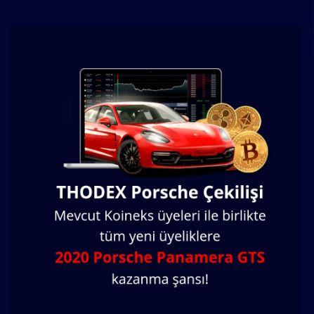 Thodex Porsche Çekilişi   ÇEKİLİŞ.BİZ